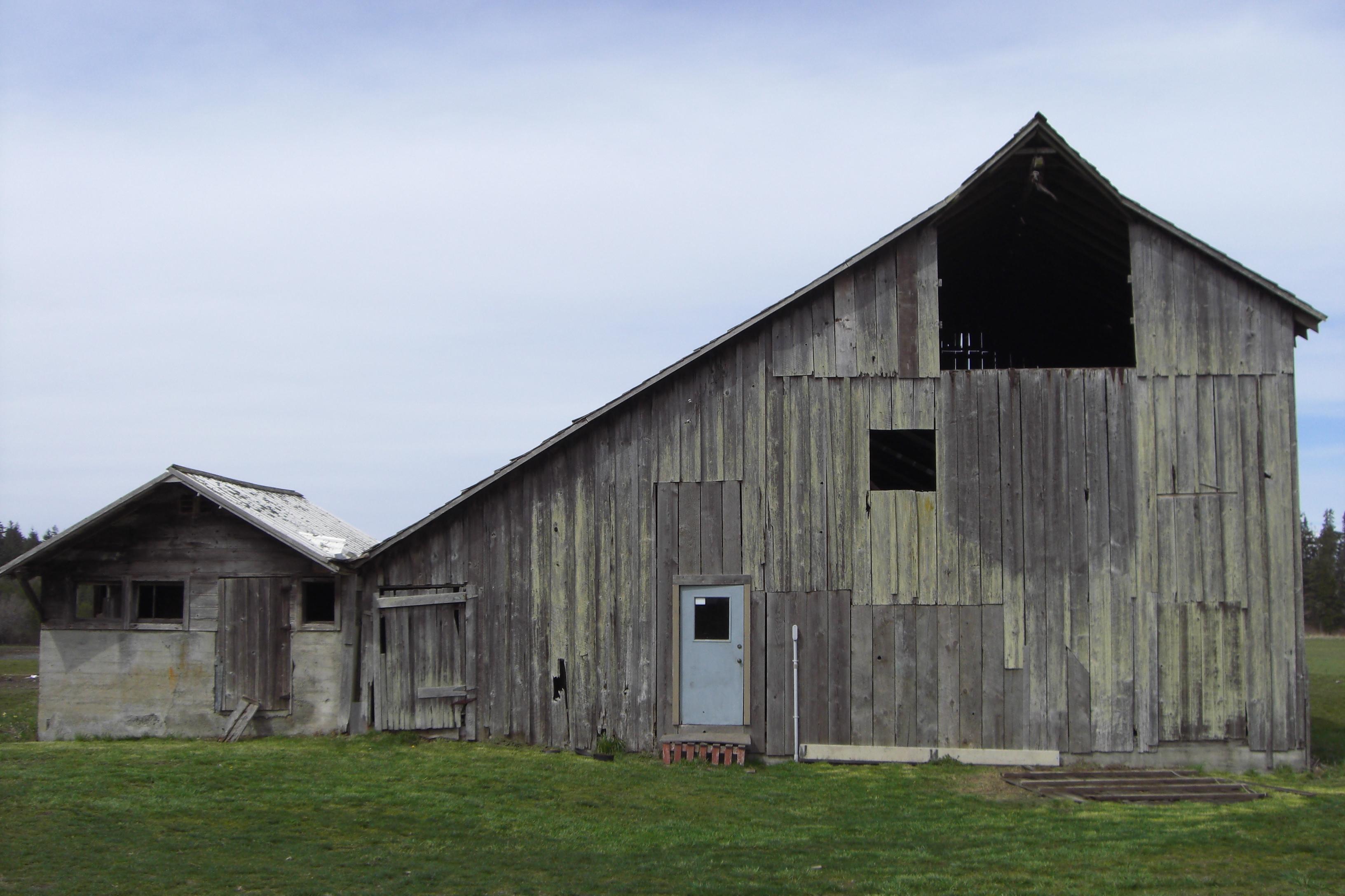 Roof Type Historic Barns Of The San Juan Islands