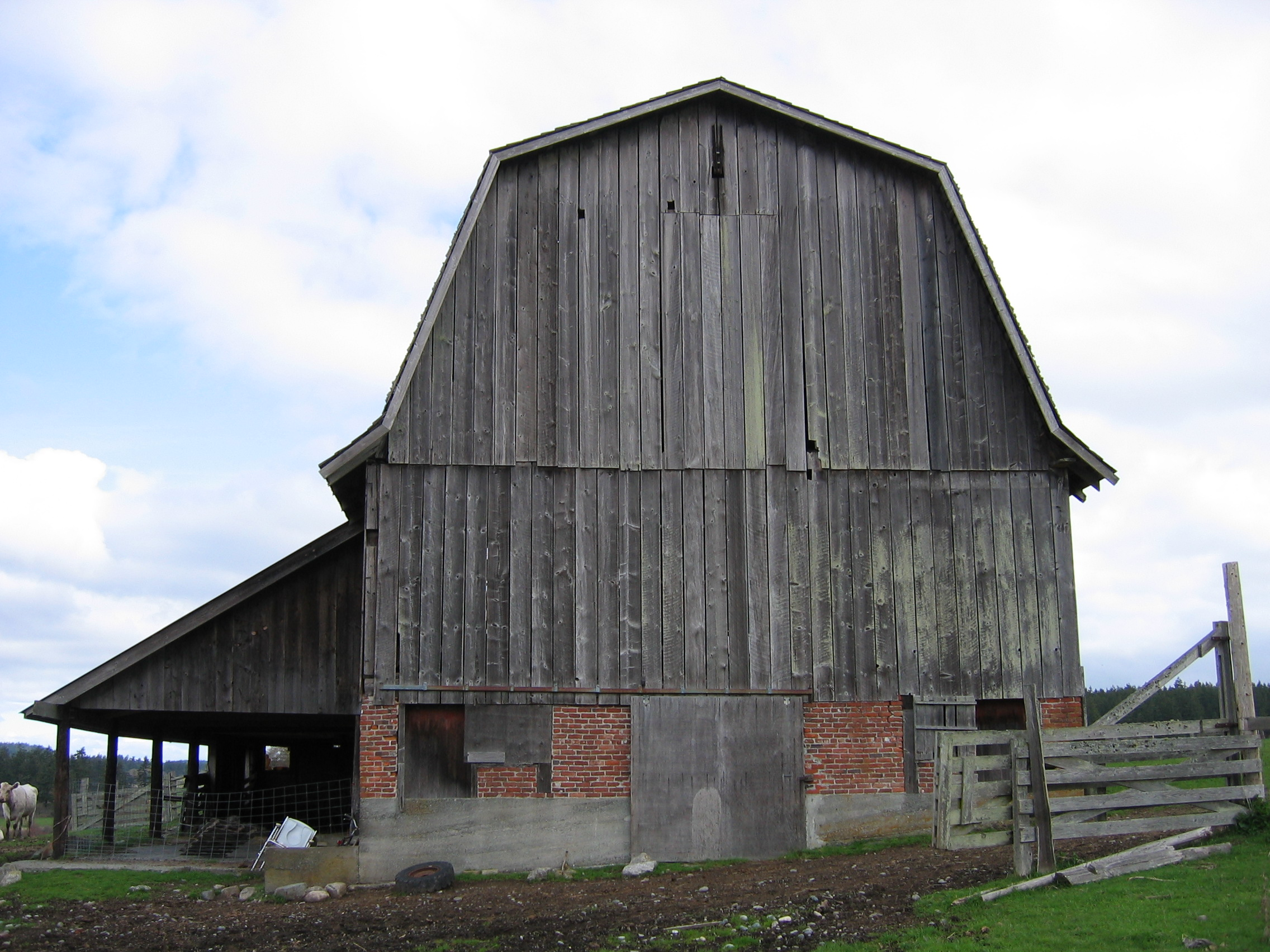 Roof Type Historic Barns Of The San Juan Islands