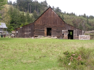 Decatur Log Barn