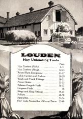 Louden Hay Unloading Tools