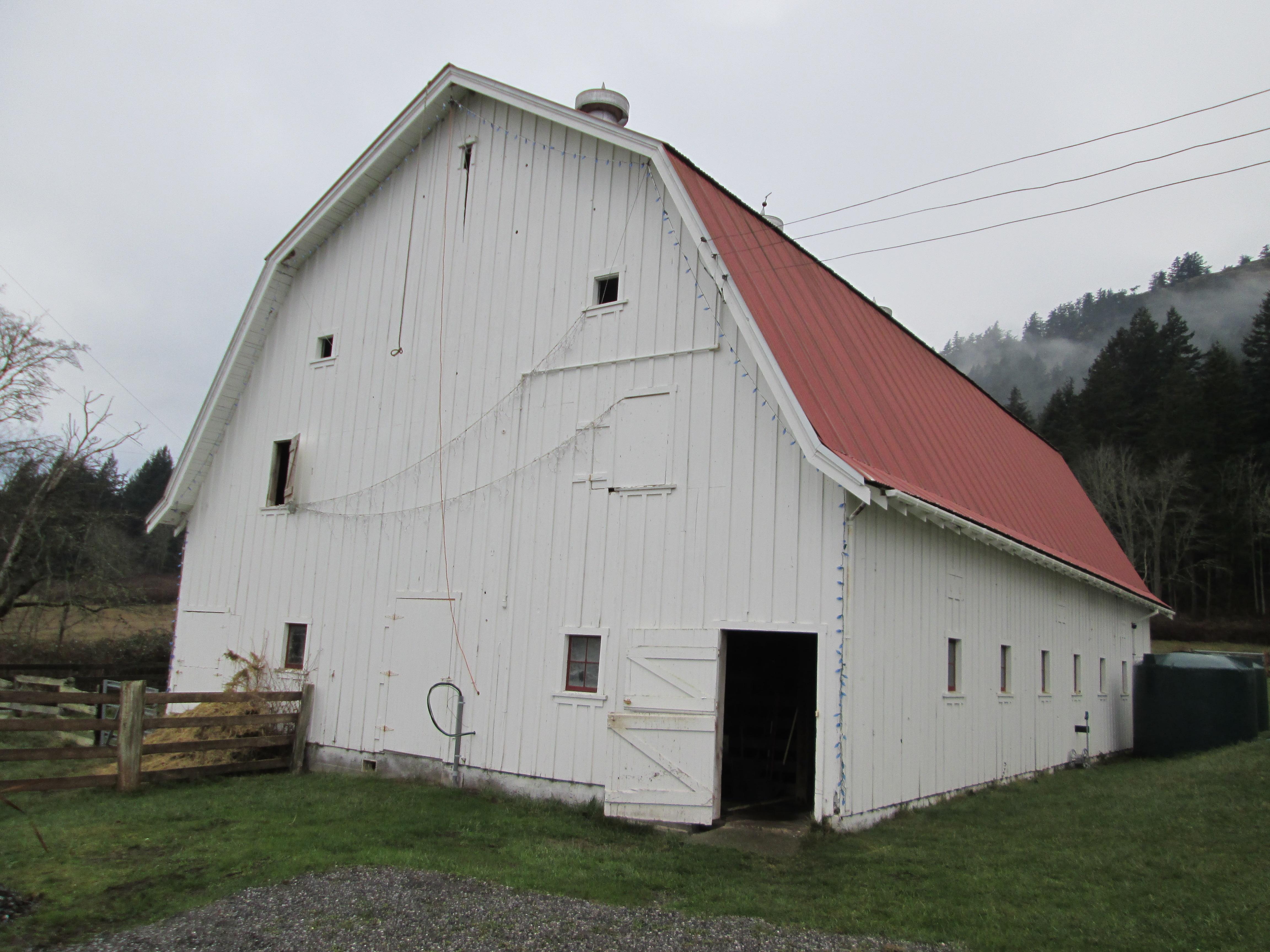 Gambrel Historic Barns Of The San Juan Islands