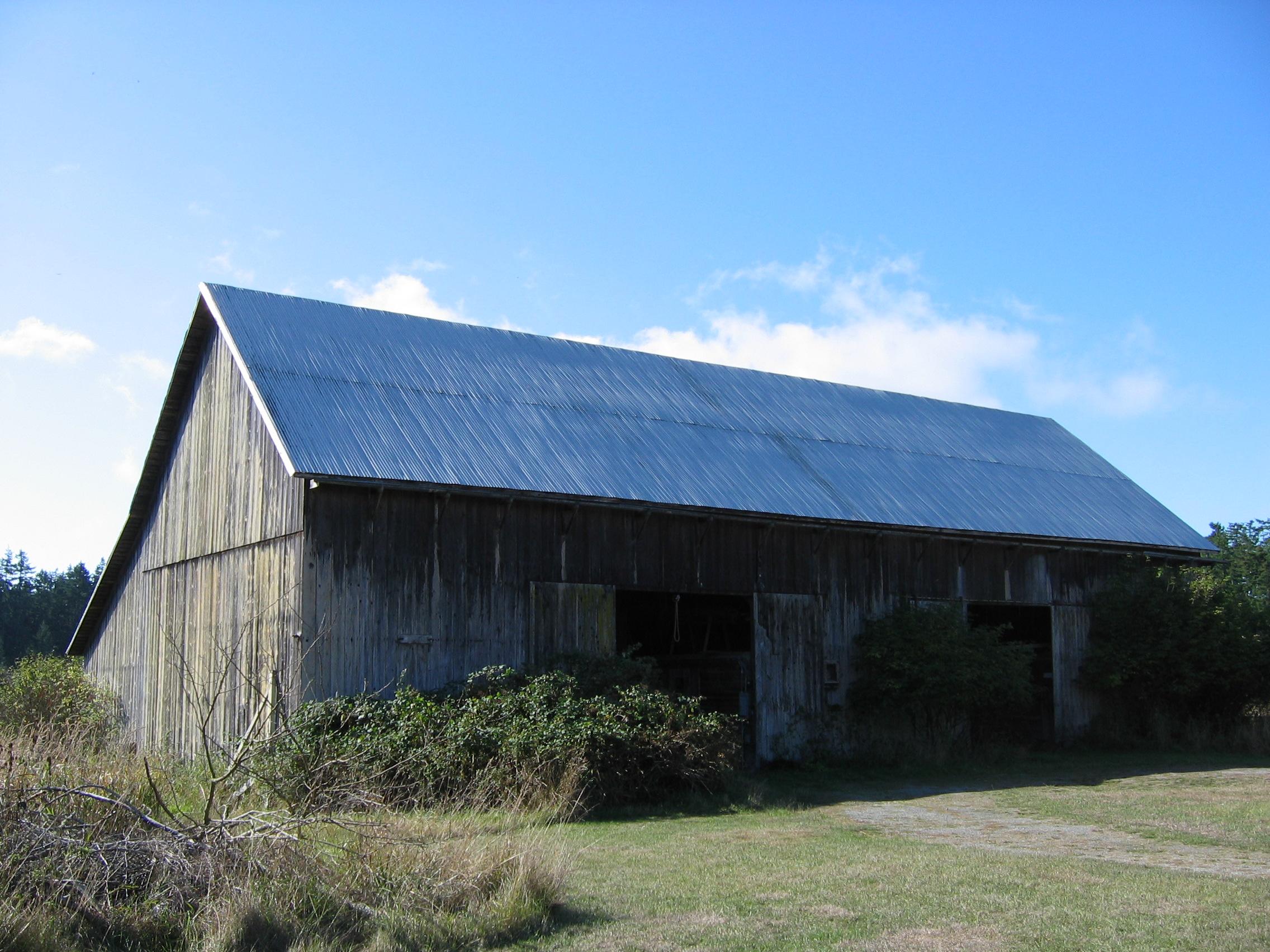Broken Gable Historic Barns Of The San Juan Islands