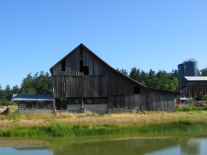 Context Barn from South