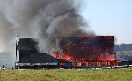 Wade Sundstrom Barn Fire