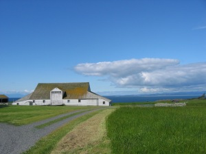 Context Barn with Victoria in Background