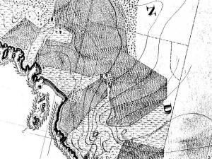 Peter Larsen Farm 1897 USGS