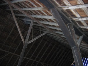Interior Structure Braces and Purlins