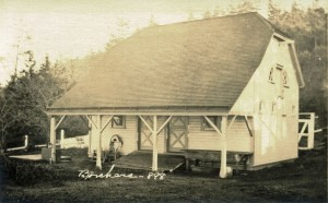 Trun Point Lighthouse Mule Barn Louis A Borchers 1920