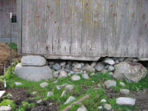 Detail Foundation and Sill