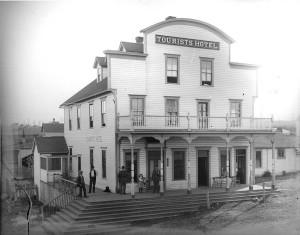 Tourists Hotel ca. 1906 UW
